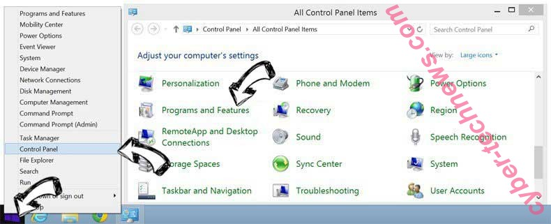 Delete Your Daily Trailer Toolbar from Windows 8