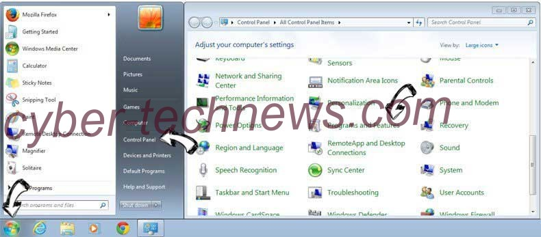 Uninstall Sports Addict Toolbar from Windows 7