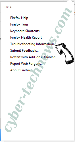 Search.primeinfospot.com Firefox troubleshooting