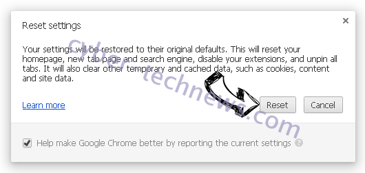 Wcontentdelivery.info Chrome reset