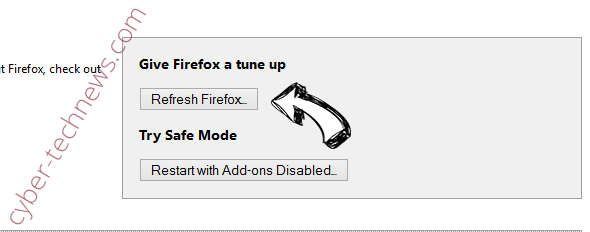 Wcontentdelivery.info Firefox reset