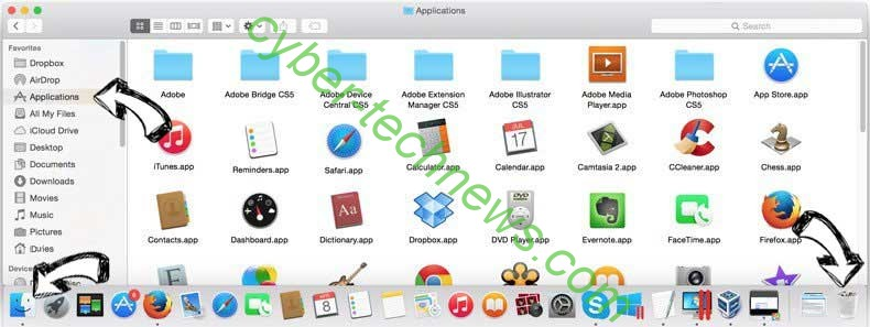 I62e2b4mfy.com removal from MAC OS X