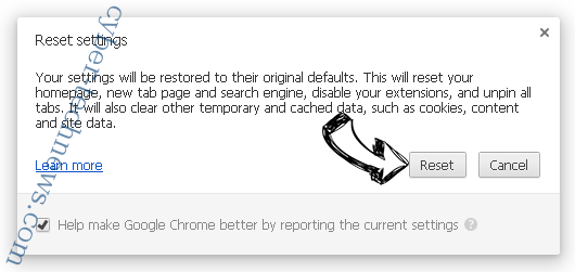 Feed.protected-search.com Chrome reset