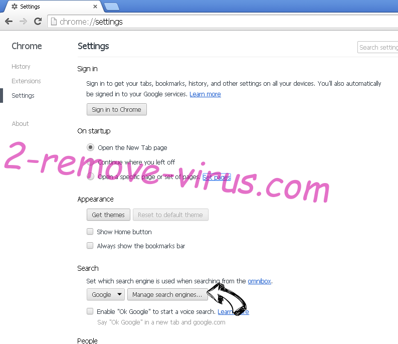 Multy App redirect virus Chrome extensions disable