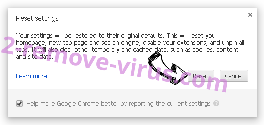 Otrwaram.com Chrome reset