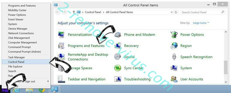 Delete GiffySocial Toolbar from Windows 8
