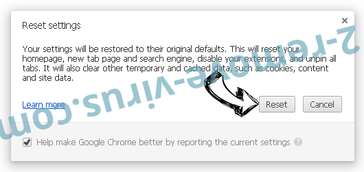 MapsFox Chrome reset