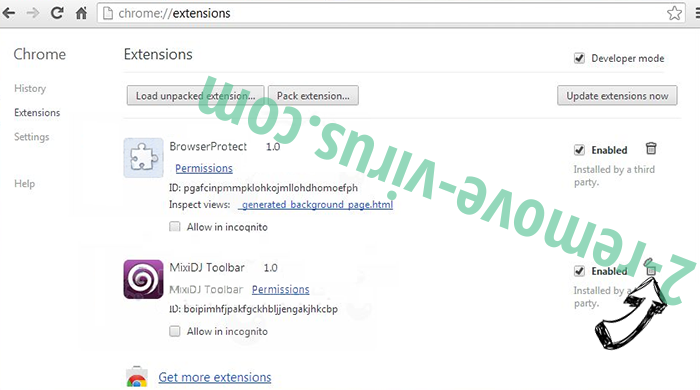Tags.bluekai.com Chrome extensions remove