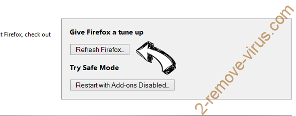 Search.searchismfa.com Firefox reset
