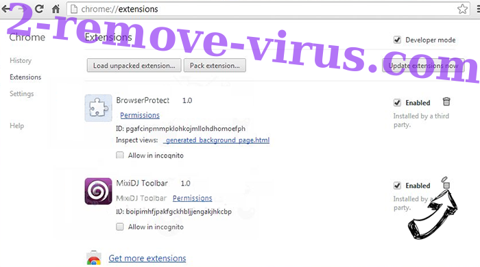 Stalluva.pro virus Chrome extensions remove