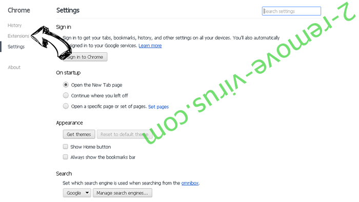 Smilebox.com Chrome settings