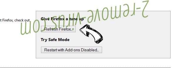 Smilebox.com Firefox reset