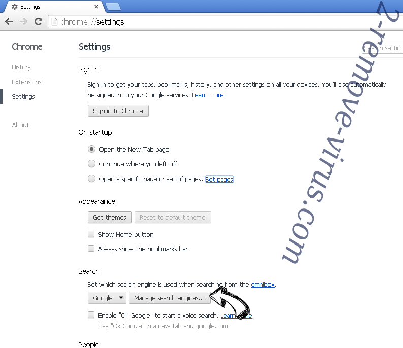 Arbrotherujik.info POP-UP Redirect Chrome extensions disable