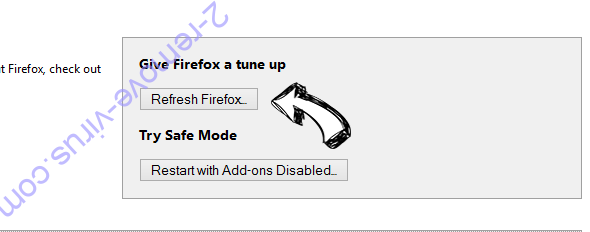 Arbrotherujik.info POP-UP Redirect Firefox reset