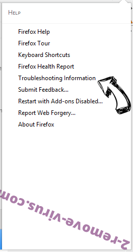 Arbrotherujik.info POP-UP Redirect Firefox troubleshooting