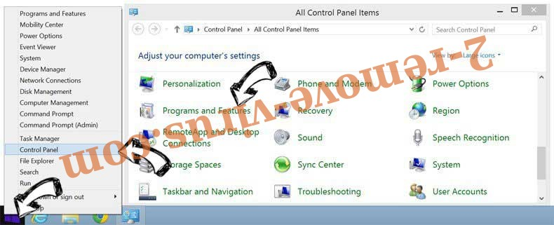 Delete S7.addthis.com from Windows 8