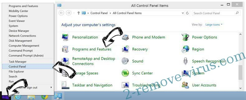 Delete Windows Firewall Warning Alert Scam from Windows 8