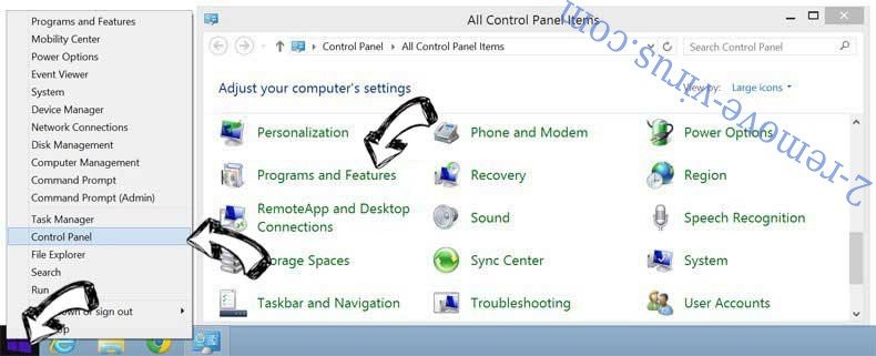 Delete Varielcontentdelivery.info POP-UP from Windows 8