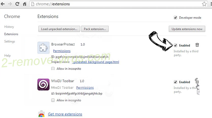 This Account Was Recently Infected Email Scam Chrome extensions disable