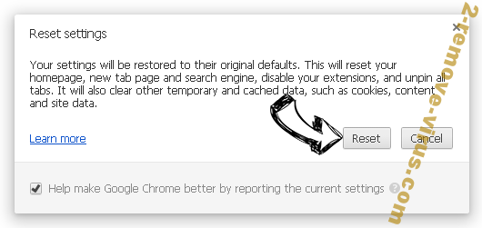Search.hyourfreeonlineformspop.com Chrome reset