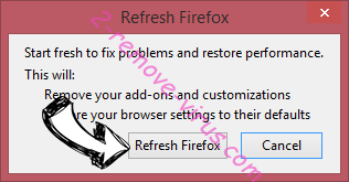 Search.hloginhelper.co Firefox reset confirm