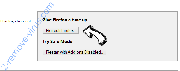 Shh-earch Supporter Firefox reset