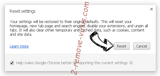 Services.srchweb.org Chrome reset