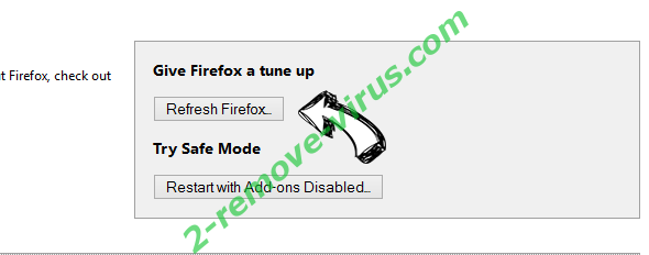ScreenDream virus Firefox reset