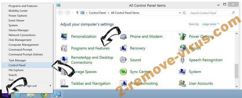 Delete Flash Player Premium SMS from Windows 8