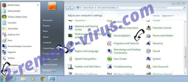 Uninstall Idle Buddy virus from Windows 7