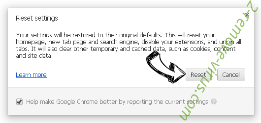Home.streamitwhere.com Chrome reset