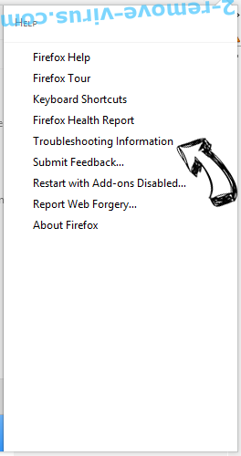 Suggedin.info Firefox troubleshooting