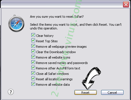 Checkmyspeed.co Safari reset