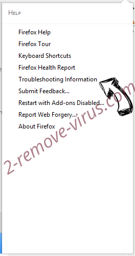 Searchgbv.com Firefox troubleshooting
