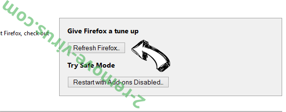Downtoext.info Firefox reset