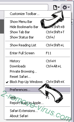ArcadeGoNetwork Safari menu