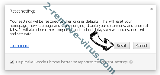 Click-now-on.me Chrome reset
