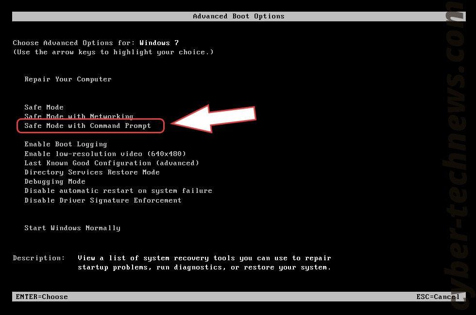 Remove MacEntizer Malware - boot options