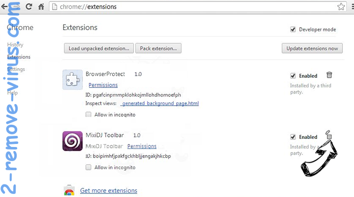 OnTargetYOGA Toolbar Chrome extensions remove