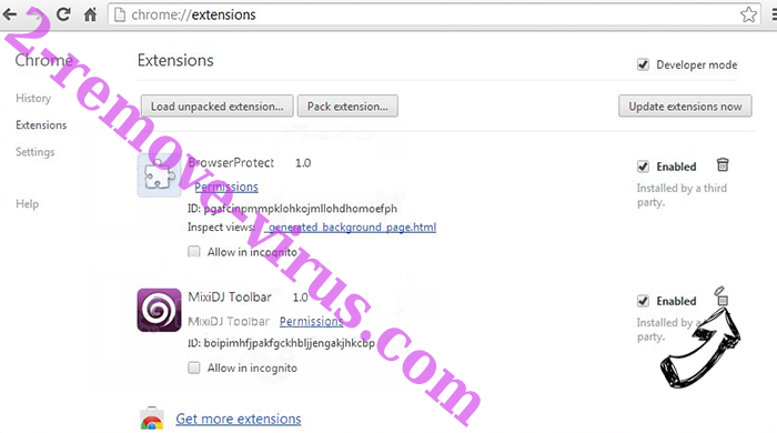 UTab Extension Chrome extensions remove