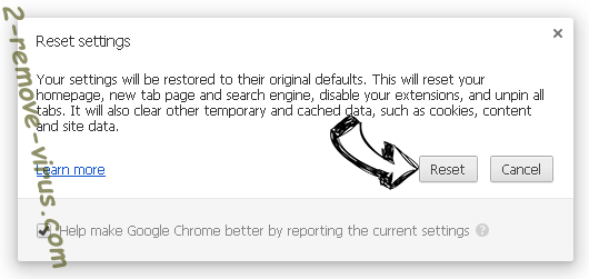 UTab Extension Chrome reset