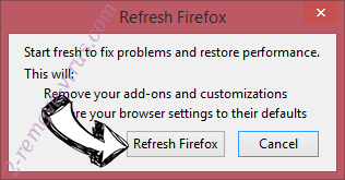 UTab Extension Firefox reset confirm