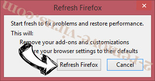 Search-mate.com Firefox reset confirm