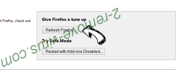 Search-mate.com Firefox reset
