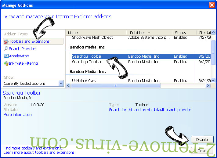 Search.thenewssource.co IE toolbars and extensions