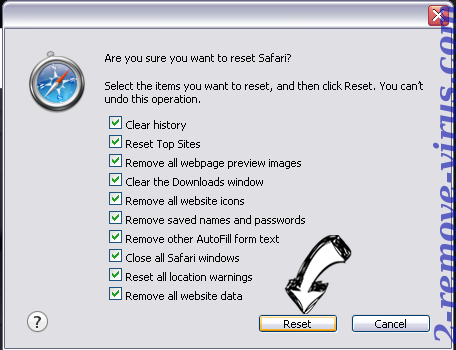 Search.hdesignyoursite.co Safari reset