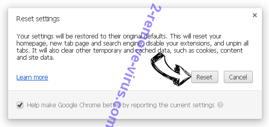 Search.opengross.com Chrome reset