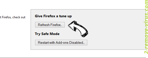 Smartsearch.pw Firefox reset