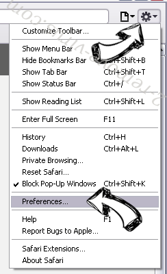 Bodlift.com virus Safari menu
