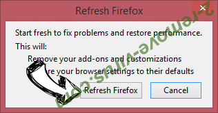 Binary1.website redirect virus Firefox reset confirm